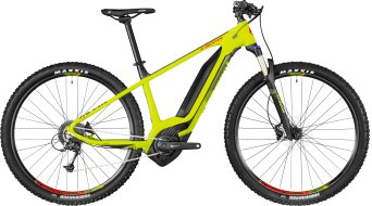 "Bergamont E-Revox 5.0 29"" MTB E- bike bike lime/black/red (matt) 2018"