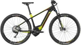 "Bergamont E-Revox Expert 29"" MTB E- bike bike black/lime/red (matt) 2018"
