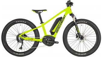 "Bergamont E-Revox Junior 24 24"" E-Bike MTB(山地) 整车 儿童-Rad 型号 32厘米 green/black/red (matt) 款型 2019"