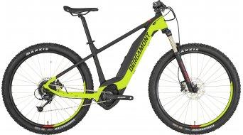 """Bergamont E-Revox 5.0 27.5""""/650B E-Bike MTB(山地) 整车 型号 青柠色/black/red (matt) 款型 2019"""