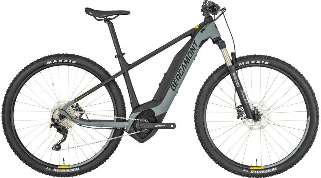 """Bergamont E-Revox 6.0 29"""" E- bike MTB bike size S black/grey/yellow (matt) 2019"""