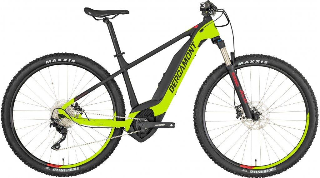 "Bergamont E-Revox 6.0 29"" E-Bike MTB(山地) 整车 型号 M 青柠色/black/red (matt) 款型 2019"