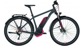 "Conway eMC 429 29"" MTB E-Bike Komplettrad grey matt/red Mod. 2018"
