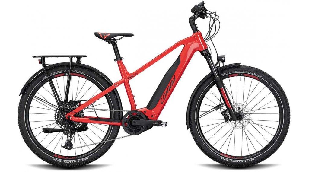 "Conway Cairon C 627 27.5"" E-Bike 整车 型号 S red/black matt 款型 2020"