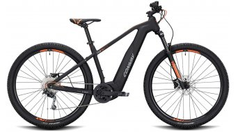 "Conway Cairon S 229 SE 500 29"" E-Bike Komplettrad black matt/orange Mod. 2020"