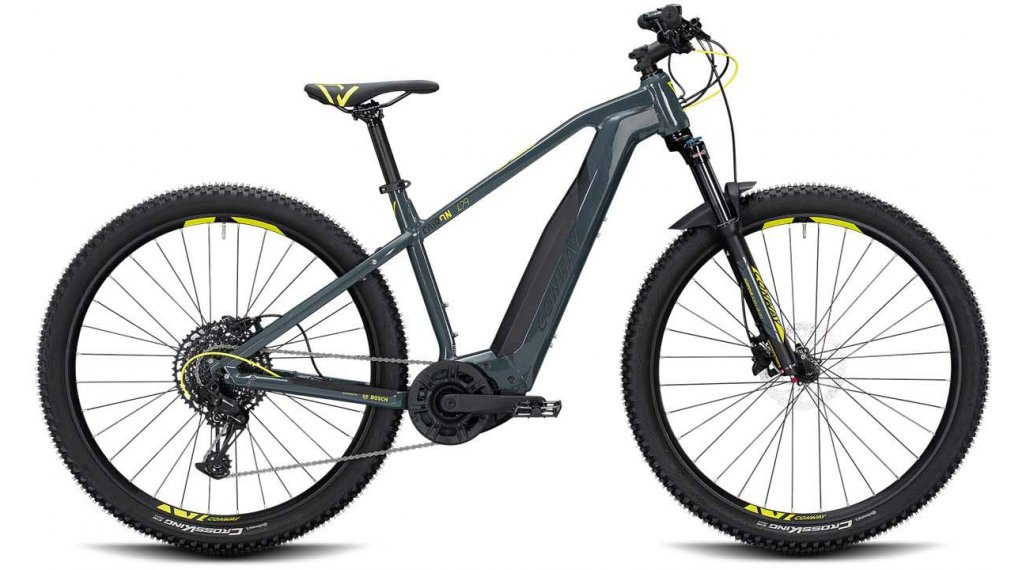"""Conway Cairon S 429 29"""" E-Bike Komplettrad Gr. S anthracite/acid Mod. 2020"""