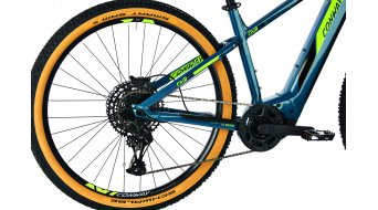 "Conway Cairon S 629 29"" e-bike MTB fiets maat S dark petrol/acid model 2021"