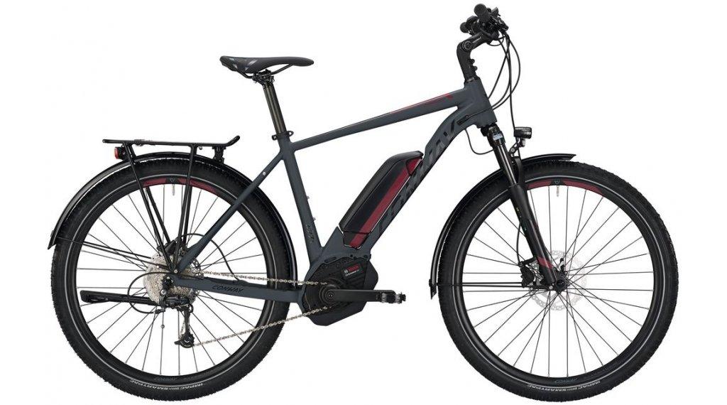"Conway eMC 427 27.5"" / 650B MTB E-Bike Komplettrad Gr. M grey matt/red Mod. 2019"