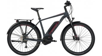 "Conway eMC 427 27.5"" / 650B MTB E-Bike Komplettrad grey matt/red Mod. 2019"