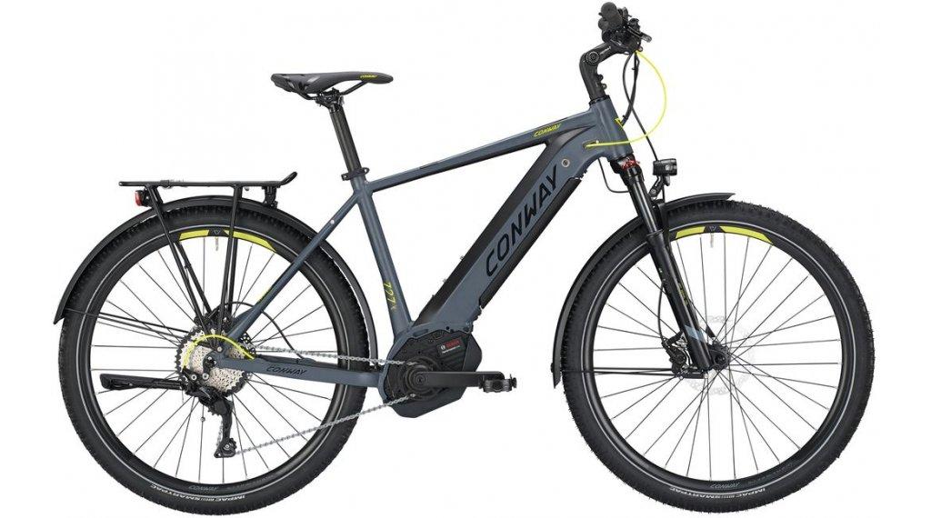 "Conway eMC 727 27.5""/650B MTB(山地) E-Bike 整车 型号 S grey matt/青柠色 款型 2019"