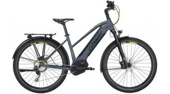 "Conway eMC 727 27.5"" / 650B MTB E-Bike Komplettrad Damen-Rad grey matt/lime Mod. 2019"