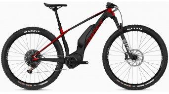"""Ghost Hybride Lector S6.7+ LC 29""""/27.5+ Vélo électrique, titane gray/riot rouge/star blanc Mod. 2020"""