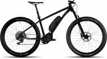 Ghost Kato 8 AL 650B / 27.5+ E-Bike Komplettrad black/black/neon red Mod. 2017
