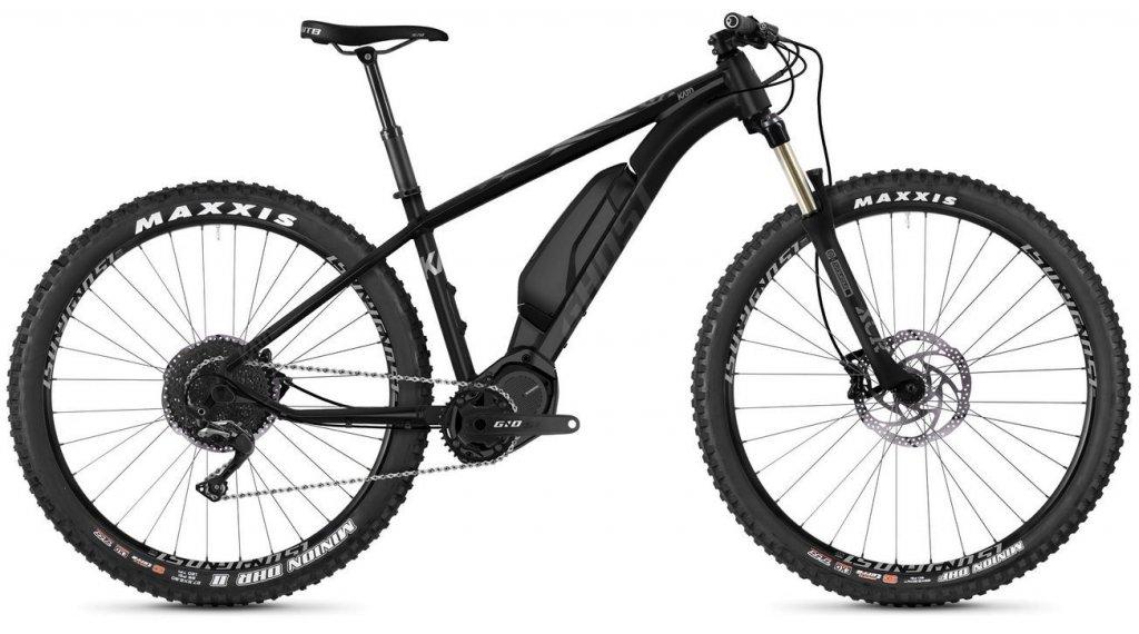 Ghost Hybride Kato X S5.7+ AL U 27.5+ E-Bike bici completa tamaño M night negro/jet negro/iridium gris Mod. 2019