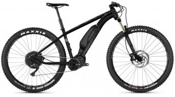 Ghost Hybride Kato X S5.7+ AL and 27.5+ E- bike bike night black/jet black/iridium silver 2019
