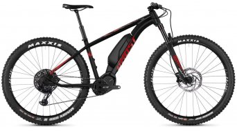 Ghost Hybride Kato X S8.7+ AL U 27.5+ E-Bike bici completa mis. M night black/riot red/iridium silver mod. 2019