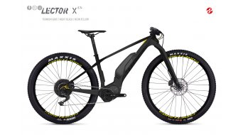 Ghost Hybride Lector SX5.7+ LC 27.5+ E-Bike bici completa titanium gray/night negro/color neón amarillo Mod. 2019