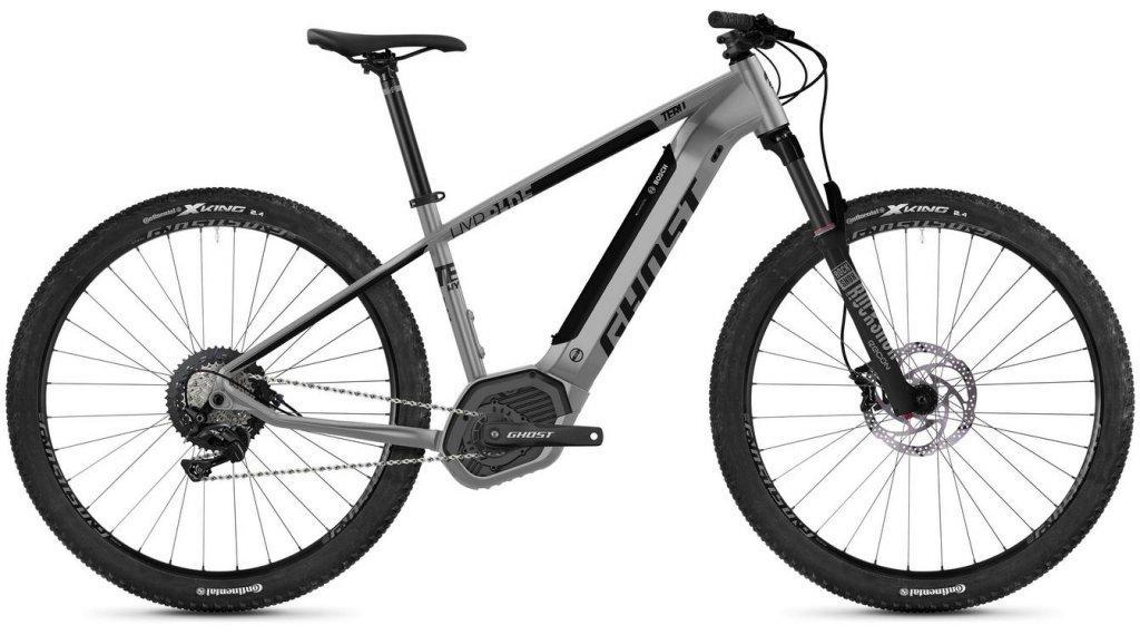 "Ghost Hybride Teru PT B5.9 AL U 29"" E-Bike 整车 型号 S urban grey/jet black 款型 2020"