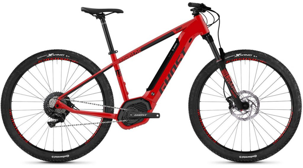 "Ghost Hybride Teru PT B5.9 AL U 29"" E-Bike 整车 型号 S riot red/jet black 款型 2020"