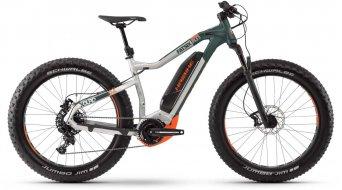 "Haibike XDURO FatSix 8.0 26"" MTB E-Bike Komplettrad silber/oliv/orange Mod. 2020"