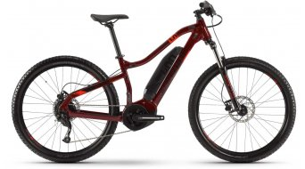 "Haibike SDURO HardSeven Life 1.0 27.5"" MTB E-Bike Komplettrad tuscan/schwarz/rot Mod. 2020"