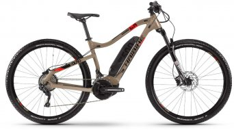"Haibike SDURO HardNine 4.0 29"" MTB E-Bike Komplettrad sand/rot/schwarz Mod. 2020"