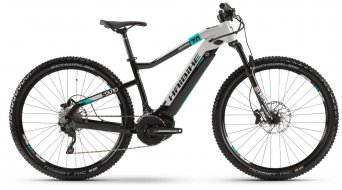 "Haibike SDURO HardNine 7.0 500Wh 29"" MTB e-bike fiets XL zwart/grijze/turquoise model 2019"