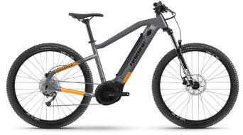Haibike HardSeven 4 27.5 E-Bike MTB Komplettrad cool grey/lava Mod. 2021