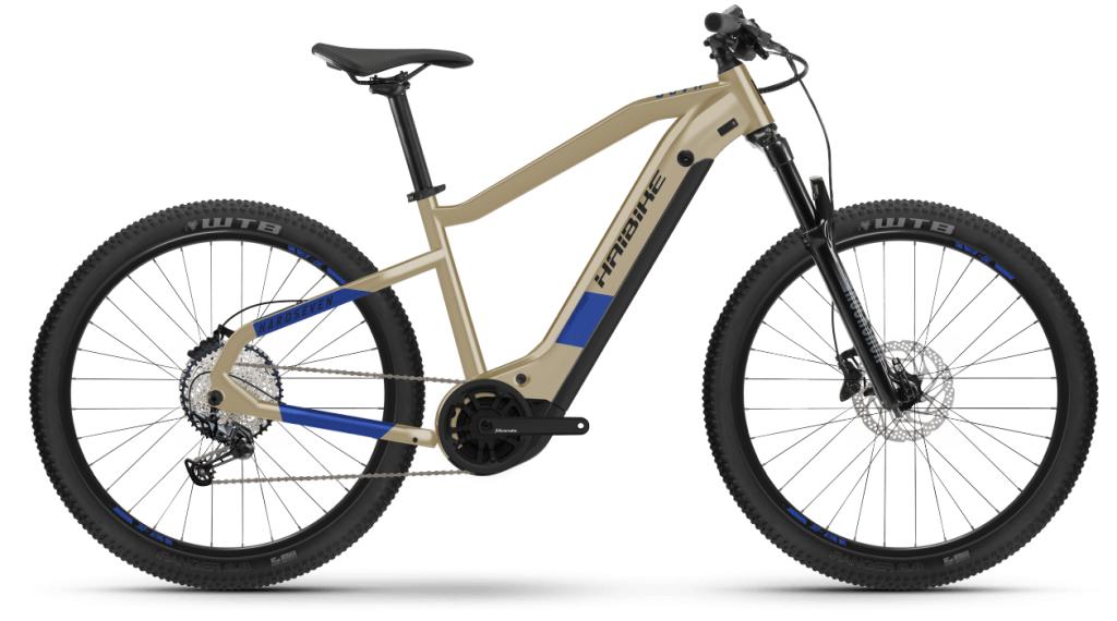 Haibike HardSeven 7 27.5 E-Bike MTB bici completa tamaño S coffee/azul Mod. 2021