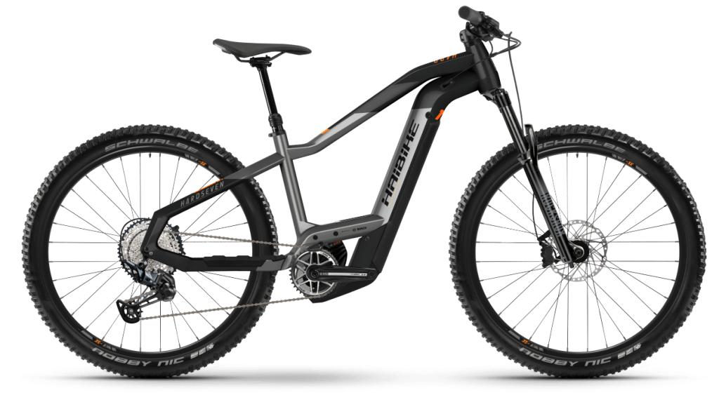 Haibike HardSeven 10 27.5 E-Bike MTB bici completa tamaño S titan/negro matte Mod. 2021