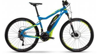 "Haibike SDURO HardSeven RC 27.5"" VTT E- vélo taille 40cm cyan/lime/blanc Yamaha-Antrieb Mod. 2016"