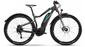 Hai bike SDURO HardSeven Street 4.5 27.5 MTB E- bike bike titanium/black/cyan matt Yamaha PW-Antrieb 2017