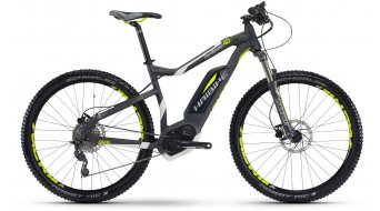Haibike XDURO HardSeven 4.0 27.5 MTB e-bike fiets Gr. antraciet/wit/lime mat Bosch Performance Cruise-aandrijving model 2017