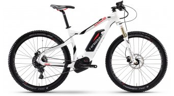 Hai bike XDURO HardSeven 5.0 27.5 MTB E- bike bike size 55cm white/black/red Bosch Performance CX-Antrieb 2017