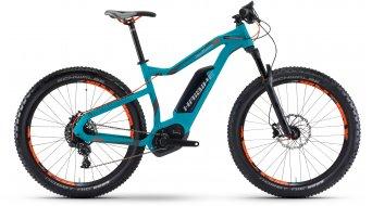 Haibike XDURO HardSeven 6.0 27.5 MTB E-Bike Komplettrad Gr. 55cm cyan/anthrazit/orange matt Bosch Performance CX-Antrieb Mod. 2017