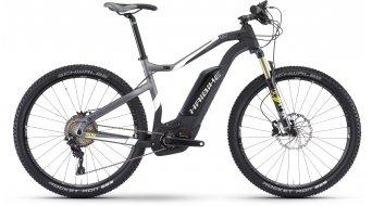 Haibike XDURO HardSeven Carbon 9.0 27.5 MTB E-Bike Komplettrad carbon/weiß/lime matt Bosch Performance CX-Antrieb Mod. 2017