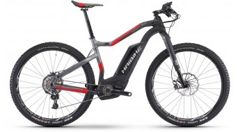 Hai bike XDURO HardSeven carbon 10.0 27.5 MTB E- bike bike carbon/anthracite/red matt Bosch Performance CX-Antrieb 2017