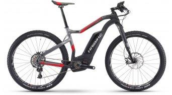 Haibike XDURO HardSeven Carbon 10.0 27.5 MTB E-Bike Komplettrad carbon/anthrazit/rot matt Bosch Performance CX-Antrieb Mod. 2017