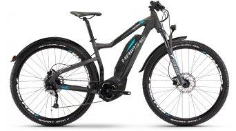 Haibike SDURO HardNine Street 4.5 29 MTB E-Bike bici completa titan/negro(-a)/cyan color apagado Yamaha PW-tracción Mod. 2017