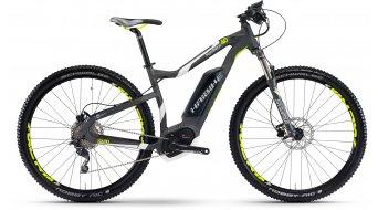 Haibike XDURO HardNine 4.0 29 MTB E-Bike bici completa antracita/blanco(-a)/lime color apagado Bosch Performance Cruise-tracción Mod. 2017