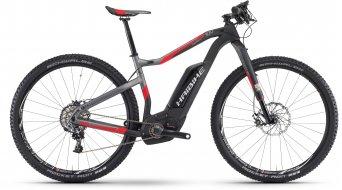 Haibike XDURO HardNine Carbon 10.0 29 MTB E-Bike Komplettrad carbon/anthrazit/rot matt Bosch Performance CX-Antrieb Mod. 2017