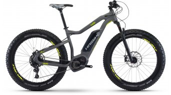 Hai bike XDURO FatSix 6.0 26 Fat bike E- bike bike size 40cm titanium/anthracite/lime matt Bosch Performance CX-Antrieb 2017