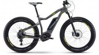 Haibike XDURO FatSix 6.0 26 Fatbike E-Bike bici completa titan/antracita/lime color apagado Bosch Performance CX-tracción Mod. 2017