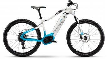 """Hai bike SDURO HardLife 6.0 500Wh 27.5"""" MTB ladies E- bike bike white/blue/anthracite 2018"""