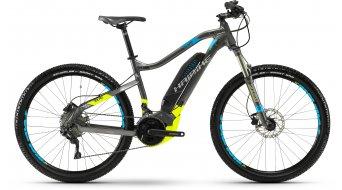 """Hai bike SDURO HardSeven 3.5 500Wh 27.5"""" MTB E- bike bike black/lime/blue matt 2018"""
