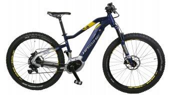 """Haibike SDURO HardSeven 7.0 500Wh 27.5"""" VTT E- vélo vélo taille S bleu/citron/argent matt Mod. 2018- objet de démonstration avec petit rayures/Lackmacken"""