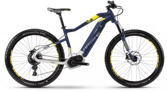 """Hai bike SDURO HardSeven 7.0 500Wh 27.5"""" MTB E- bike bike blue/citron/silver matt 2018"""