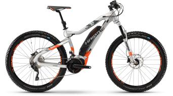 "Haibike SDURO HardSeven 8.0 500Wh 27.5"" MTB e-bike fiets zilver/orange/olive mat model 2018"