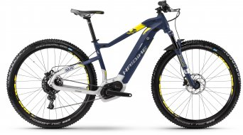 """Hai bike SDURO HardNine 7.0 500Wh 29"""" MTB E- bike bike M blue/citron/silver matt"""