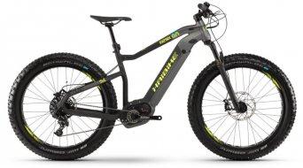 "Haibike XDURO FatSix 9.0 500Wh 26"" Fatbike E-Bike bici completa titan/negro(-a)/amarillo(-a) color apagado Mod. 2019"
